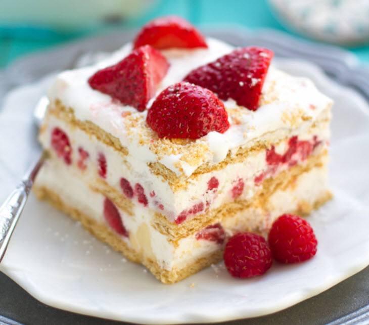 وصفة حلي بارد بالصور (الكعكة الباردة)
