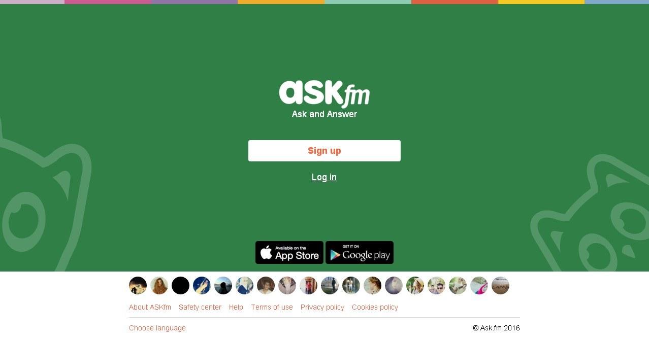 عمل حساب على موقع ask.fm بالعربي