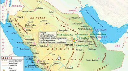 الرمز البريدي لمدن المملكة العربية السعودية