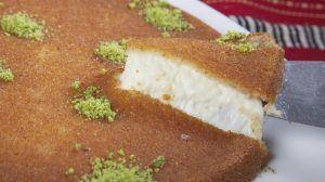 طريقة عمل الكنافة النابلسية بالجبنة