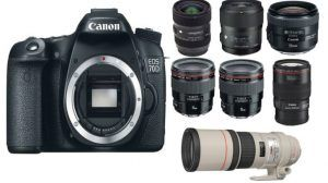 جديد كاميرات الكانون عالية الدقة Camera Canon EoS 70D