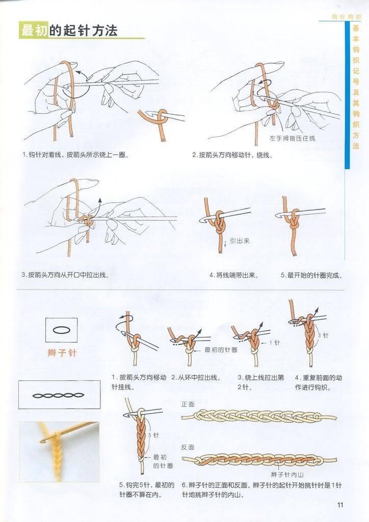 طريقة عمل غرزة السلسلة