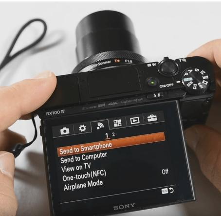 طريقة نقل الصور ومقاطع الفيديو باستخدام WiFi 2