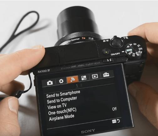 طريقة نقل الصور ومقاطع الفيديو باستخدام WiFi