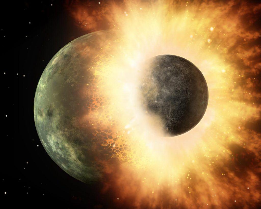 كوكب الأرض قبل 4.5 مليار سنة