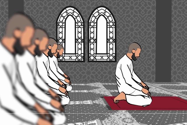 كيفية اداء صلاة الجماعة