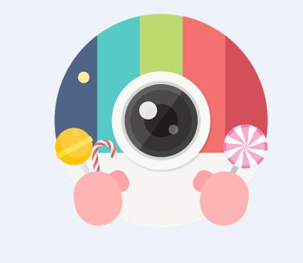 تطبيق Candy Camera