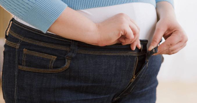 أسباب زيادة الوزن السريع في منطقة البطن