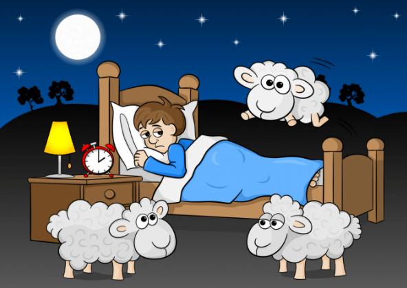 أسباب قلة النوم