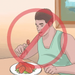 الامتناع عن تناول الطعام قبل الأكل
