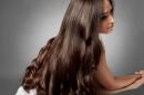 صورة سيدة شعرها طويل