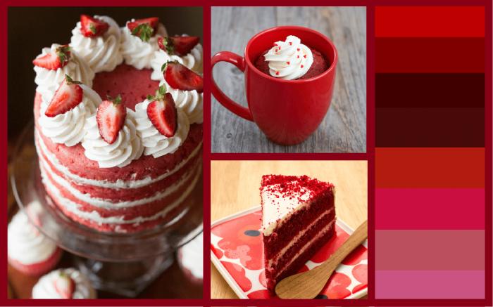طريقة عمل الكيكة الحمراء