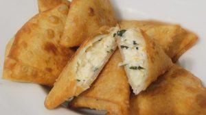 طريقة عمل سمبوسك بالجبنة