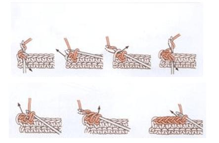 طريقة عمل غرزة الحشو المعكوسة (زكزاك)