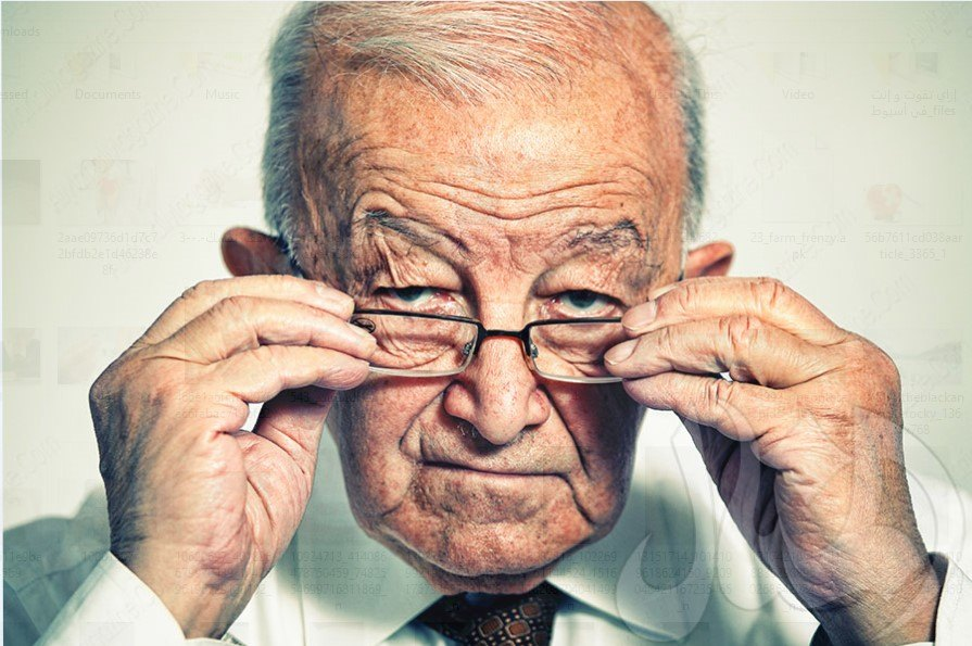 مشكلة ضعف النظر في الشيخوخة