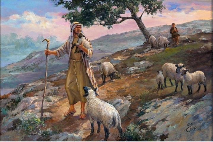 موقف سليمان مع الرجلين المتخاصمين