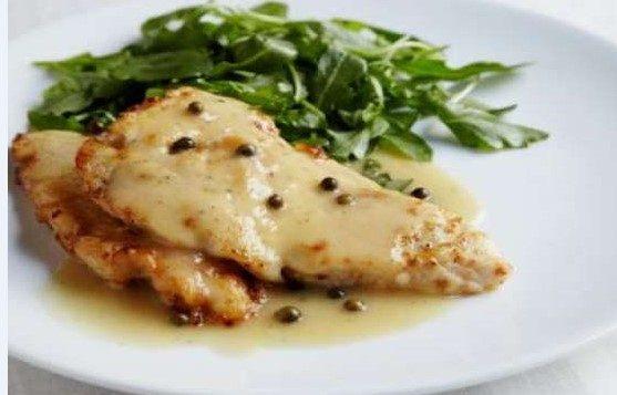 11 – وصفة بيكاتا الدجاج الشهي