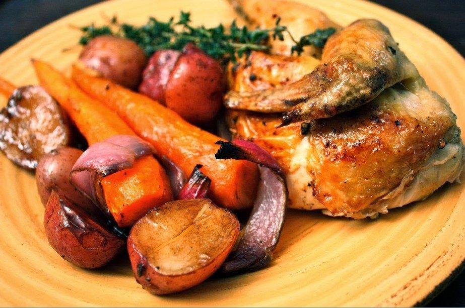 17 – وصفة روستو الدجاج بالبطاطس.