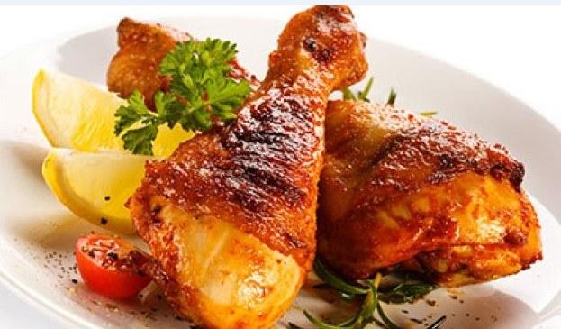 2 – وصفة الدجاج المحمر في الفرن.