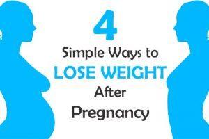 خسارة الوزن بعد الحمل