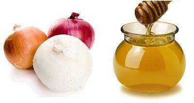 مزيج البصل والعسل