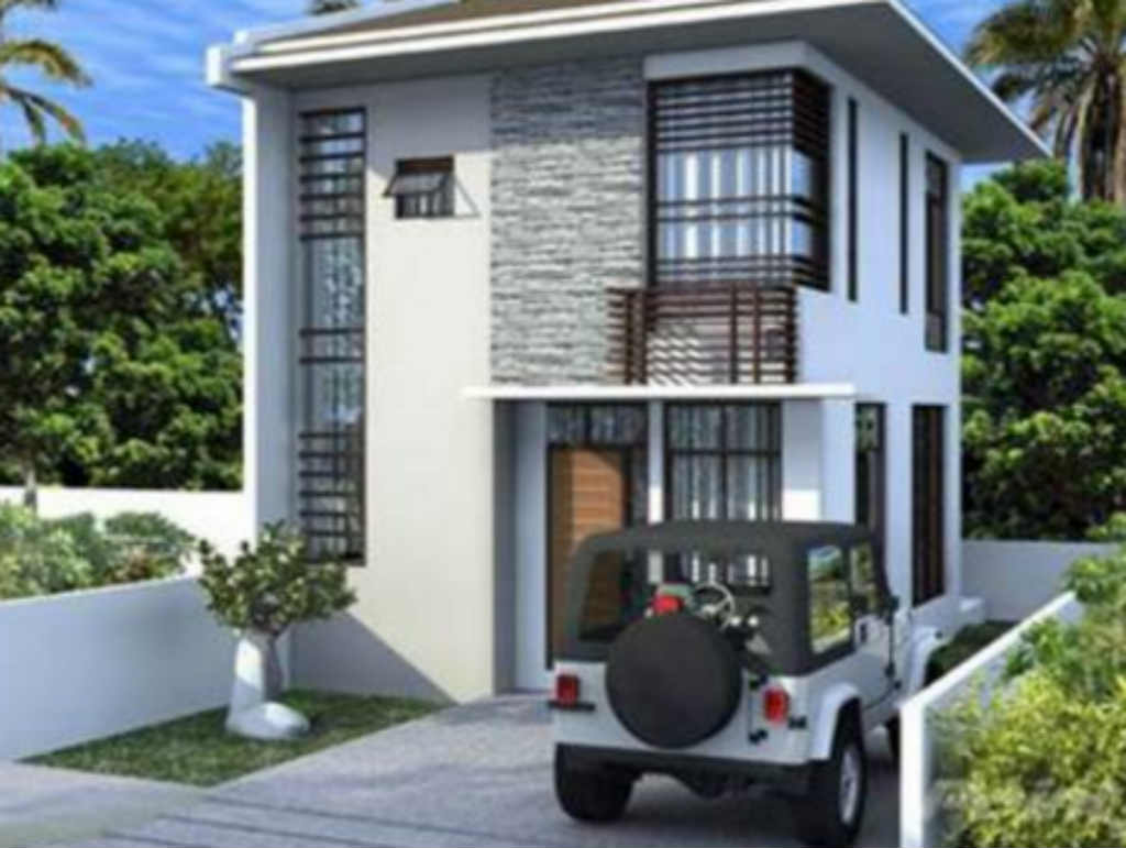 Exterior House Design on Small 2 Storey House Design Philippines