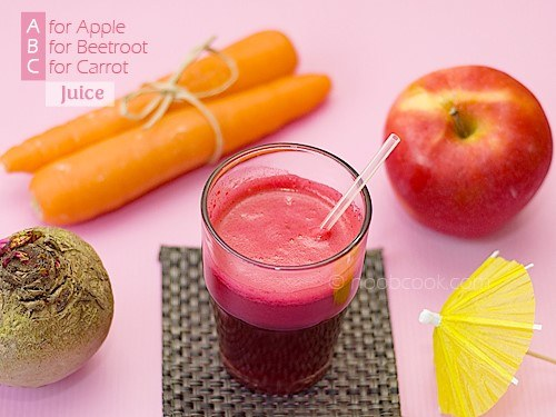 فوائد عصير التفاح والجزر والشوندر