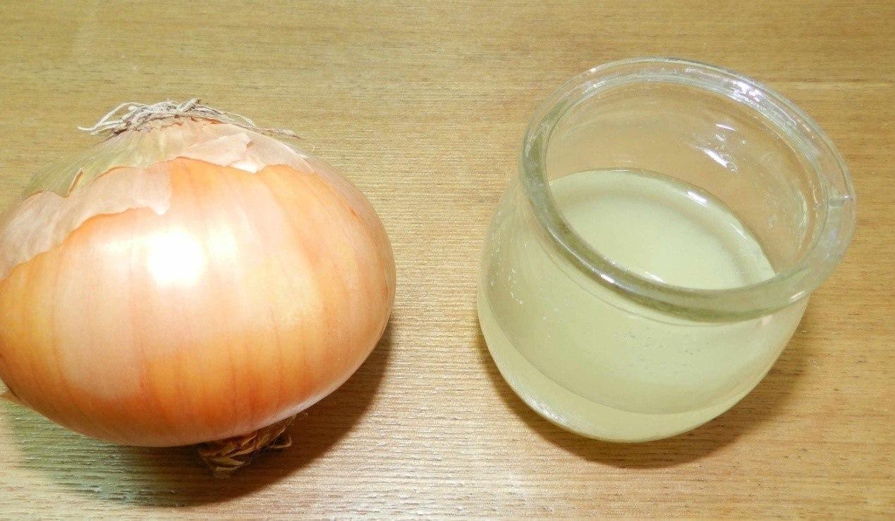 وصفة عصير البصل