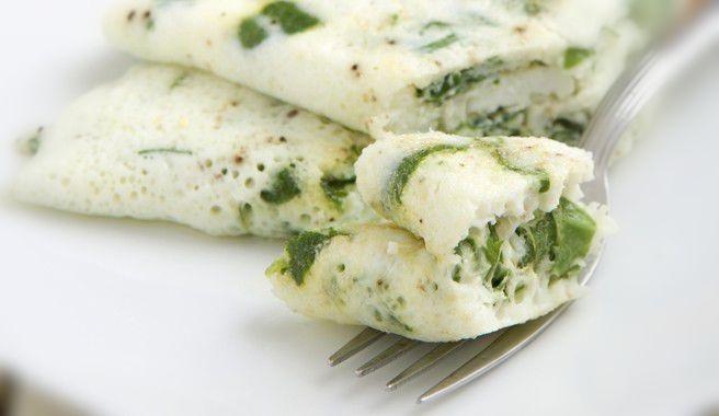 بياض البيض المقلي