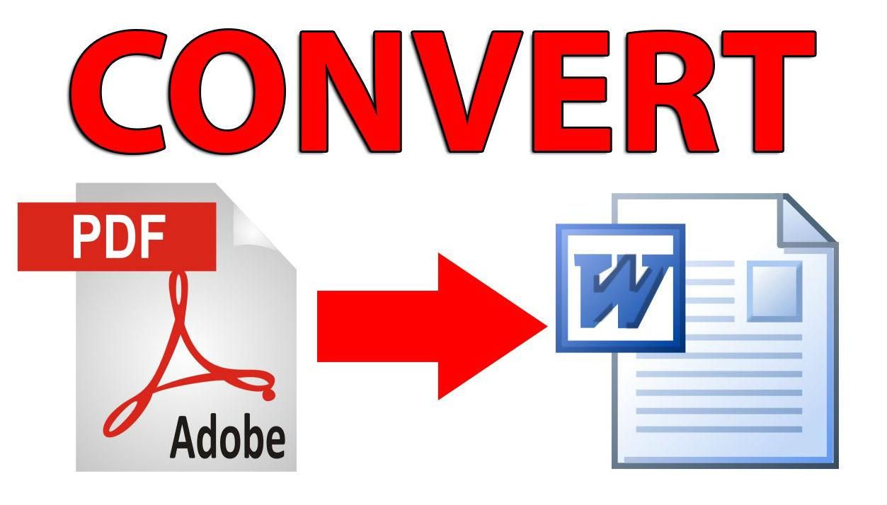 تحويل ملفات PDF إلى أي صيغة