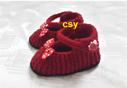 حذاء كروشي