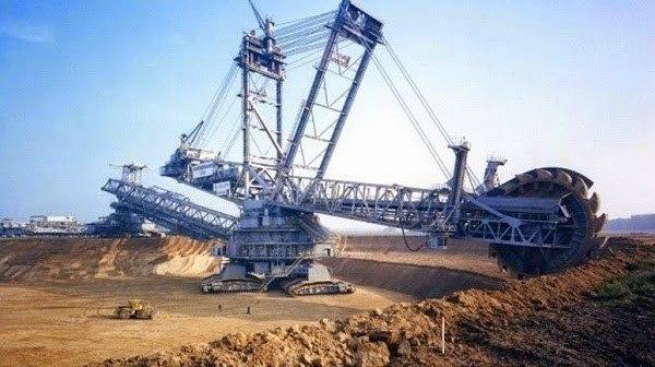 حفارة الفحم Bagger 293