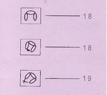 رموز غرزة البيكو