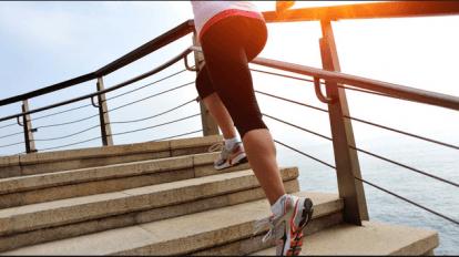 رياضة طلوع الدرج ونزوله