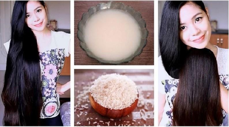استخدامات ماء الأرز للحصول على شعر صحي