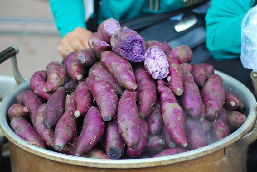البطاطا الأرجوانية الحلوة