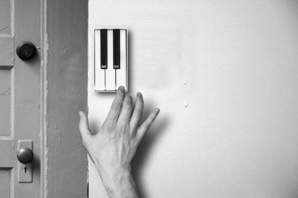 الجرس البيانو