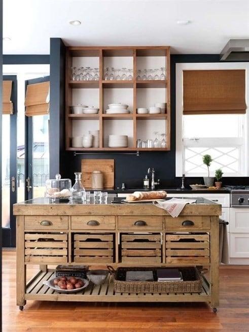 تصميم خزانة المطبخ