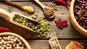 المصادر الغذائية للبروتينات