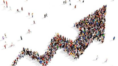 زيادة عدد السكان