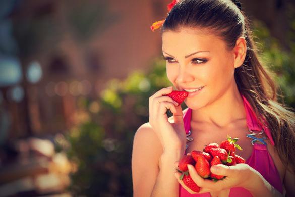 فوائد الفراولة التجميلية