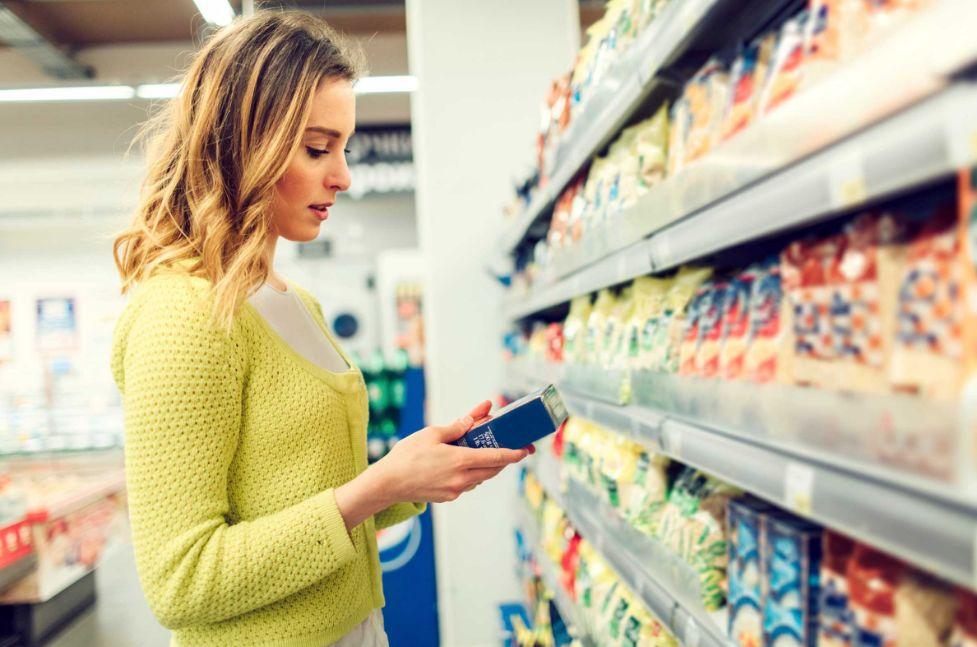 قراءة محتوى الأطعمة والمنتجات