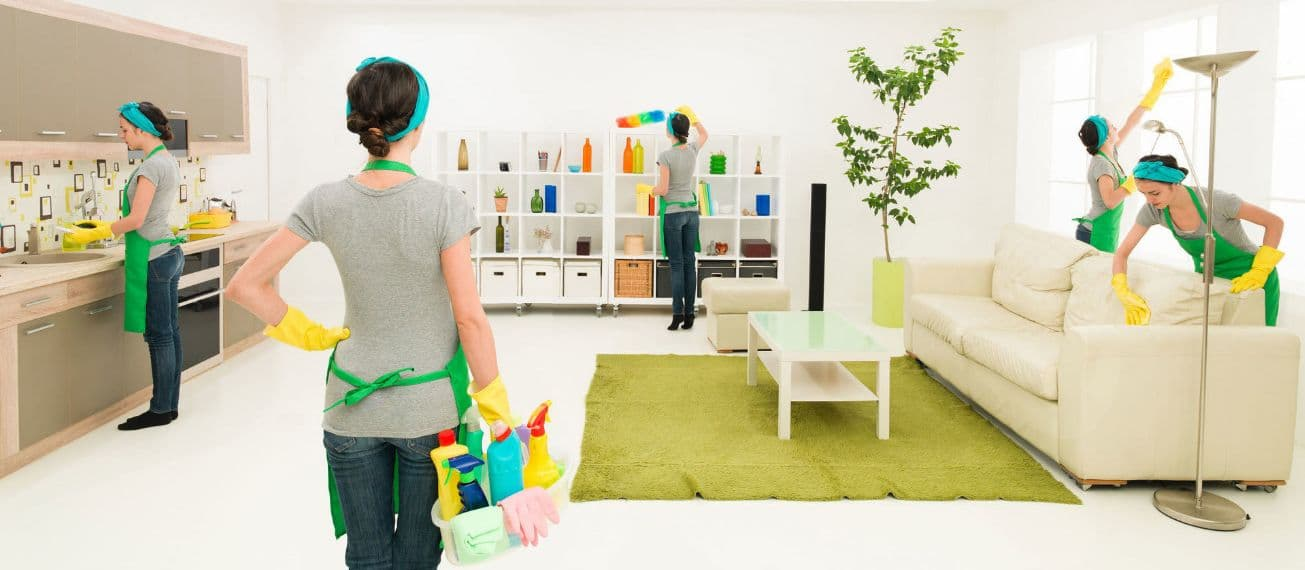 نصائح للتنظيف السريع للبيت