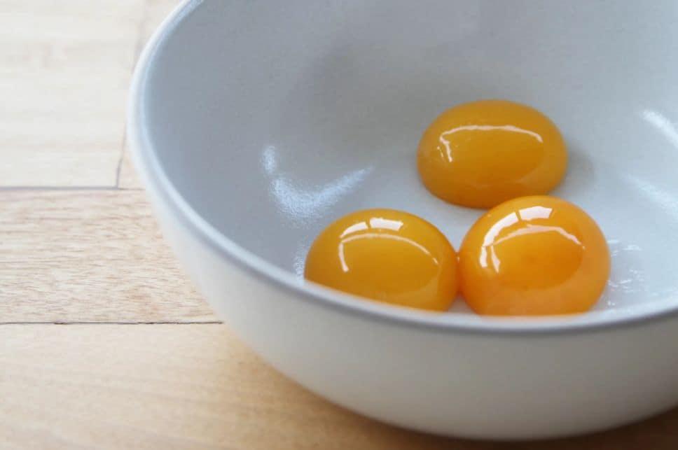 أضرار صفار البيض