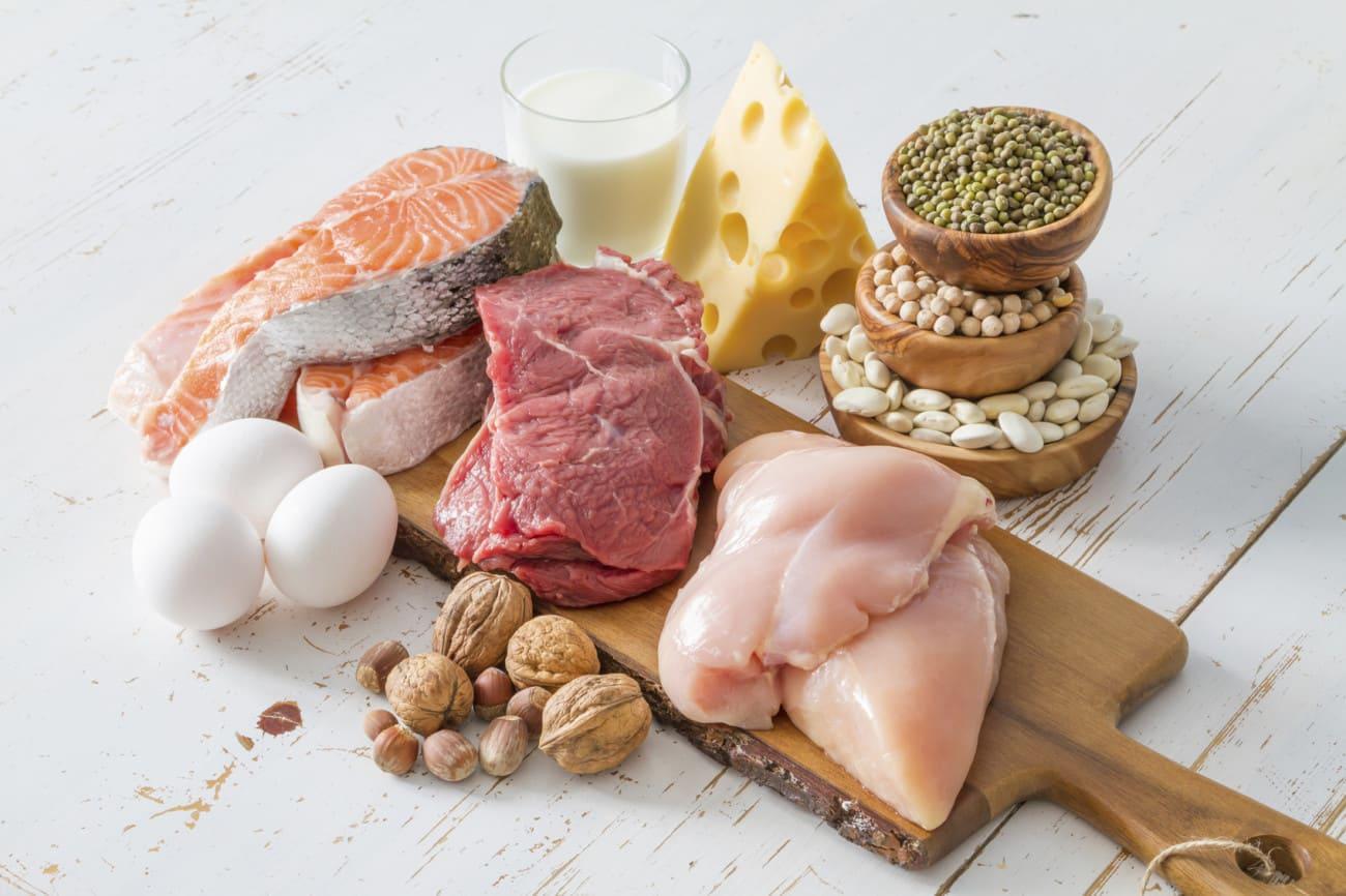 أهم الأطعمة لصحة العضلات