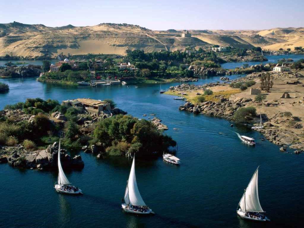 أطول الأنهار في العالم نهر النيل