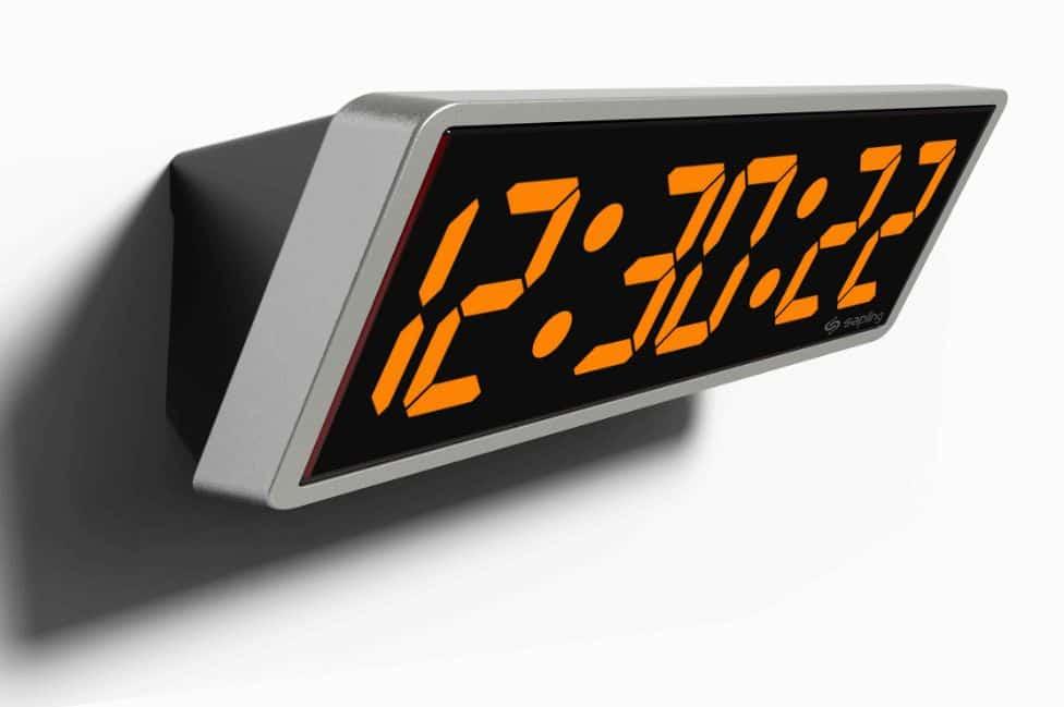 الساعة الإلكترونية