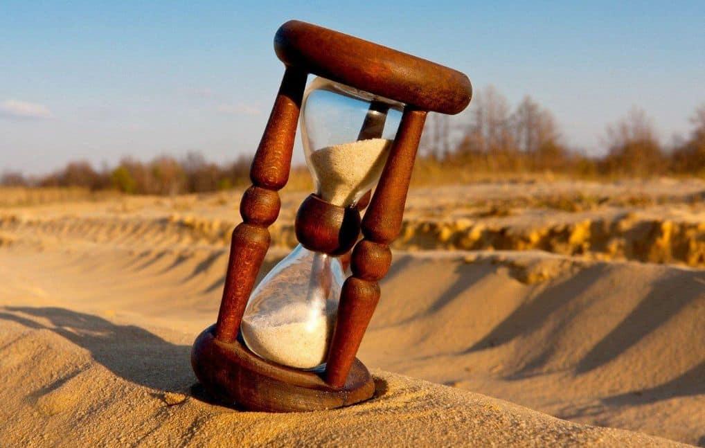 الساعة الرملية
