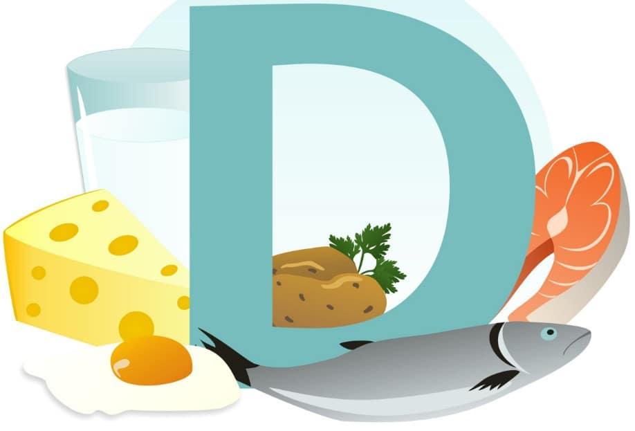 المأكولات التي يوجد بها فيتامين د