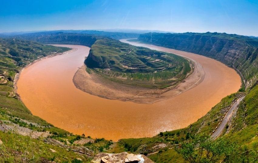 النهر الأصفر في الصين